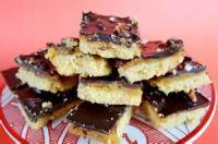 Cookies - Yuletide Toffee Squares