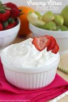 Dips - Fruit -  Easy Lowfat Fruit Dip
