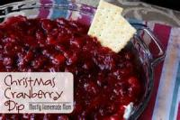 Dips - Holiday Cranberry Dip