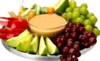 Dips - Fruit -  California Cheese Dip With Fresh Fruit