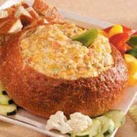 Dips - Seafood -  Pumpernickel Crab Dip