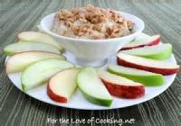 Dips - Fruit -  Toffee Dip With Apples