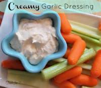 Dips - Creamy Garlic Dressing/dip