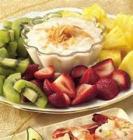 Dips - Fruit -  Pina Colada Fruit Dip