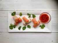 "Fishandseafood - Smoked Salmon Rolls With Fresh Salmon ""caviar"""