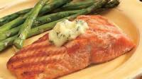 Fishandseafood - Salmon -  Salmon In Asparagus Sauce