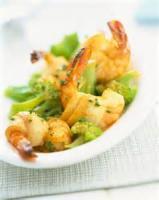 Fishandseafood - Stir Fried Scallops With Leeks