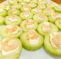Fishandseafood - Shrimp -  Cucumber Shrimp Appetizer