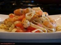 Fishandseafood - Linguine With Shrimp Sauce