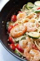 Fishandseafood - Pasta With Shrimp And Vegetables