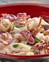 Fishandseafood - Squid -  Grilled Calamari With Lemon And Oregano
