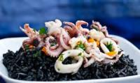 Fishandseafood - Linguine With Calamari And Garlic