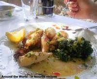 Fishandseafood - Mediterranean Sauteed Squid
