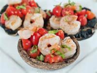 Fishandseafood - Shrimp -  Shrimp And Mushroom Grill