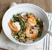 Fishandseafood - Shrimp -  Shrimp And Asparagus Risotto