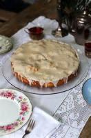 Fruit - Apple Cake With Rum Glaze