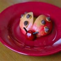 Fruit - Apple Ladybugs