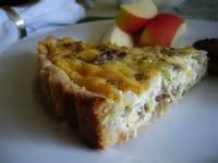 Fruit - Apple -   Apple And Sausage Quiche