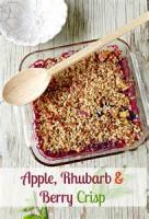 Fruit - Rhubarb And Apple Crisp