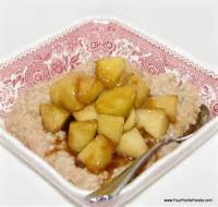 Fruit - Apple -  Sauteed Apples In Vanilla Butter