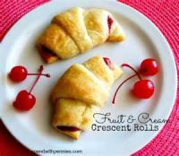 Fruit - Crescent Apple Quicks
