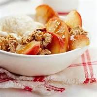 Fruit - Apple -  Crunchy Apple Cobbler