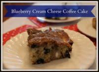 Fruit - Blueberry Cheese Coffee Cake