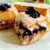 Fruit - Blueberry Stuffed French Toast