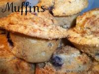 Fruit - Blueberry -  Blueberry-streusel Muffins