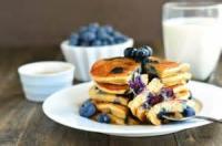 Fruit - Whole Wheat Blueberry Pancakes
