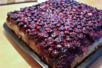 Fruit - Blueberry -  Blueberry Upside-down Cake