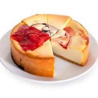 Fruit - Almond Cherry Cheesecake