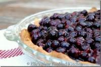 Fruit - Blueberry -  Fresh Blueberry Pie