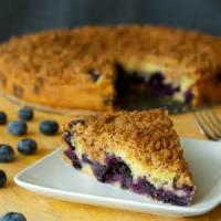 Fruit - Blueberry -  Blueberry Streusel Cake