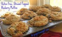Fruit - Blueberry -  Streusel-topped Blueberry Muffins