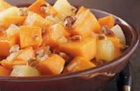 Fruit - Cranberry-glazed Sweet Potatoes