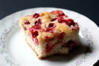 Fruit - Cranberry -  Cranberry Crumble Coffee Cake