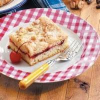 Fruit - Fresh Cherry Coffee Cake