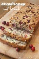 Fruit - Cranberry -  Cranberry Nut Bread