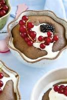 Fruit - Chocolate Cherry Clafouti