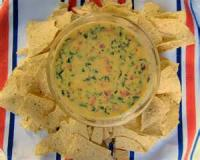 Dips - Spinach Queso Dip