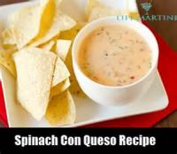 Dips - Spinach Con Queso Dip