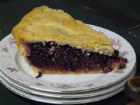 Fruit - Elderberry Pie