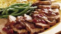 Fruit - Cranberry -  Pork Roast With Cranberries