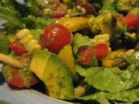 Fruit - Lime -  Southwest Salad With Cilantro Dressing