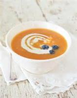 Fruit - Chilled Cantaloupe-peach Soup