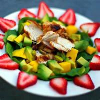 Fruit - Mango -  Mango And Avocado Salad With Citrus Vinaigrette