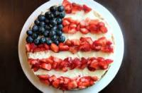Fruit - Easy Independence Day Cookie Pizza