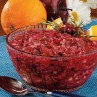 Fruit - Cranberry Orange Relish