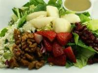 Fruit - Pear, Walnut And Blue Cheese Salad With Cranberry